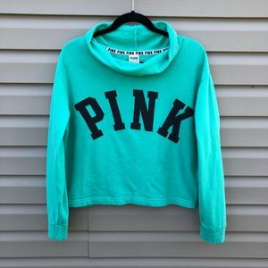 VS PINK | cowl neck pullover